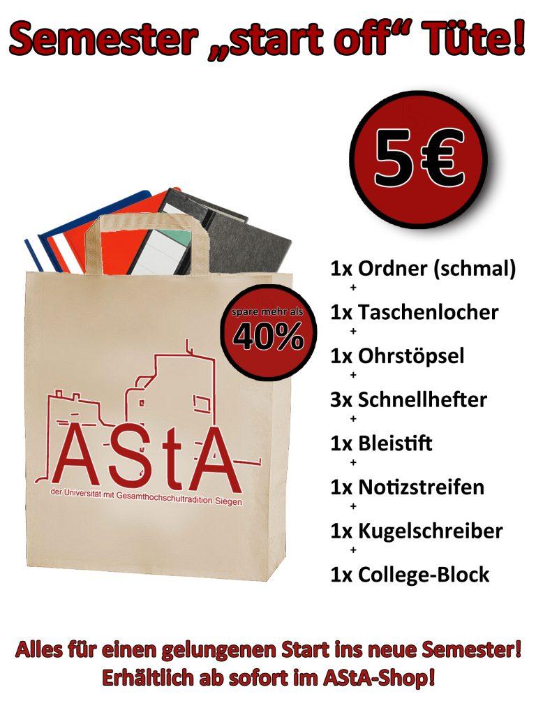 AStA Shop-Starterset