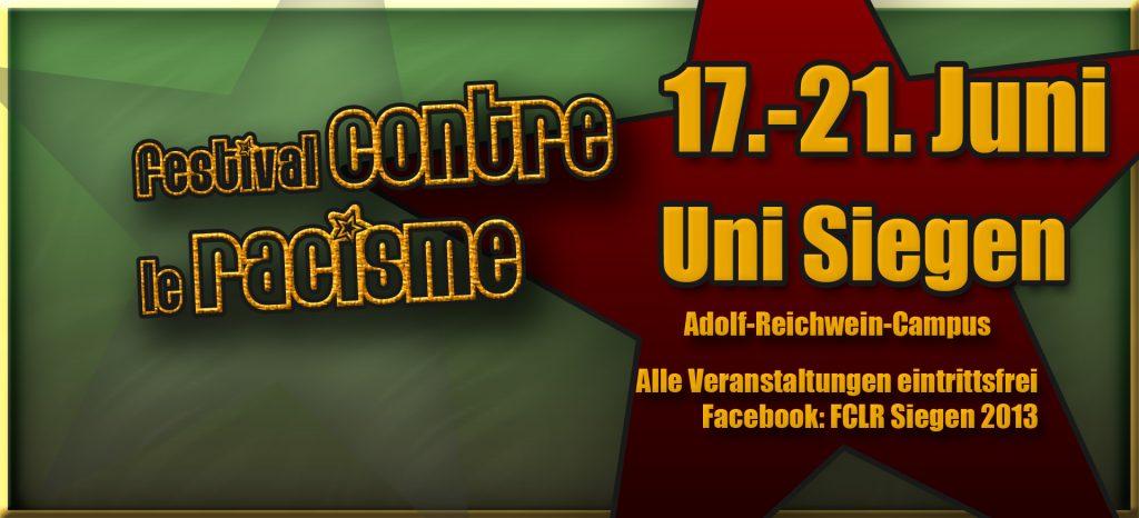 Festival contre le racisme (Banner)