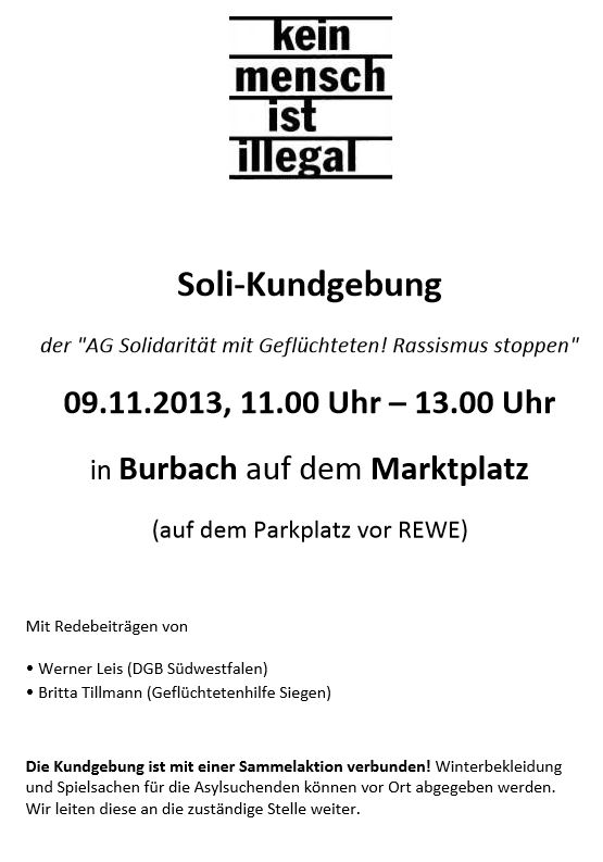 09.11. - Solidemo Flyer (front)